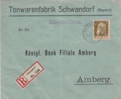 AD Bayern R Brief 1912 Zeppelin - Bavière