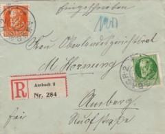 AD Bayern R Brief 1915 - Bavière