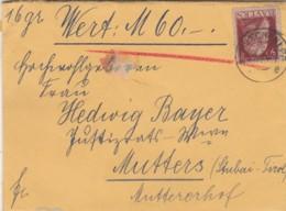 AD Bayern Brief 1912 - Bavière