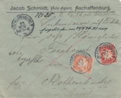 AD Bayern Brief 1895 - Bavière