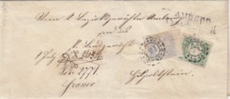 AD Bayern Brief 1868 - Bavière