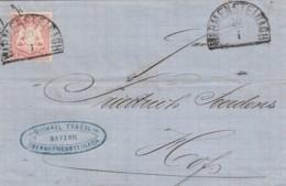 AD Bayern Brief 1871 - Bavière