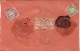 AD Bayern Brief 1902 Nur Hinterseite - Bavière