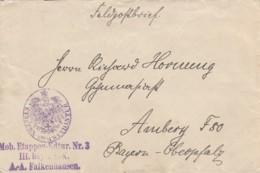 AD Bayern Feldpost Brief 1916 - Bavière