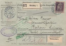 AD Bayern Paketkarte 1914 - Bavière