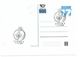 Czech Republic 2018 - Bethlehem Light In Prague, Special Postal Cancellation - Christianisme
