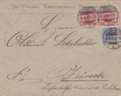 Deutsches Reich Brief 1893 - Lettres & Documents