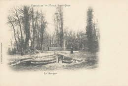AL 989 / CPA  VERSAILLES   (78)   ECOLE SAINT JEAN -  LE BOSQUET - Versailles
