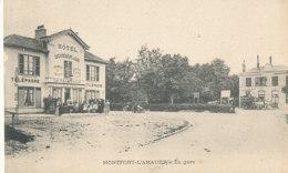 A M  36  / CPA    MONTFORT L'AMAURY      (78)   LA GARE - Montfort L'Amaury