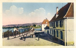 69 - Souvenir De Chalampé - Le Pont Sur Le Rhin Et La Maison De La Douane - France