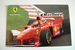 SCHUMACHER        PILOTA  FERRARI   AUTO FORMULA   F1 - Grand Prix / F1