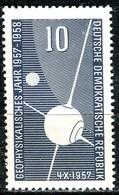 DDR - Mi 603  - ** Postfrisch (A) - 10Pf  Geophysikalisches Jahr - [6] République Démocratique