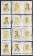 Venezuela 1970 MiN°1825 10v MNH - Venezuela