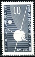 DDR - Mi 603  - ** Postfrisch (B) - 10Pf  Geophysikalisches Jahr - [6] République Démocratique