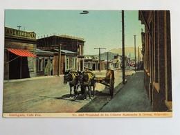 C.P.A. : CHILE : ANTOFAGASTA , Calle Prat, En 1911 - Chile