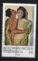 2016 - 3283 - ° -   Lmod. Kunst, Liebespaar; Koloman Moser - 1945-.... 2ème République