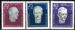 DDR - Mi 606 A / 608 A  - ** Postfrisch (A) - Aufbau Nationaler Gedenkstätten - [6] République Démocratique