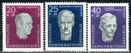 DDR - Mi 606 A / 608 A  - ** Postfrisch (B) - Aufbau Nationaler Gedenkstätten - [6] République Démocratique