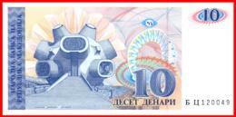 """MACEDONIA 1993 * BILLETE MACEDONIA 10 DENARI """"MAKEDONIUM""""  SC - Macédoine"""