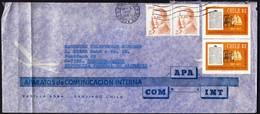 "Chile 1977 / 150th Anniversary Of Newspaper ""El Mercurio De Valparaiso"", Diego Portales / APA COM INT / Air Mail - Chili"