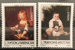 Yugoslavia, 1989, Mi: 2376/77 (MNH) - 1945-1992 Sozialistische Föderative Republik Jugoslawien
