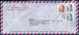 Chile Santiago 1977 / Diego Portales / Melpex / Air Mail - Chili
