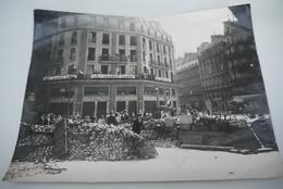LIBERATION   PARIS    25  AOUT  1944   PHOTO   ORIGINALE    LAPI    24/18  CM - 1939-45