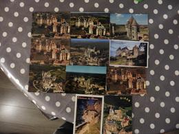 LOT  DE 11 CARTES POSTALES  NEUVES   DE  BIRON (24 ) - Cartes Postales