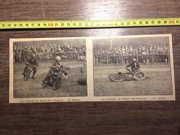 ANNEES 20/30 LES COURSES DE MOTOS SUR PELOUSE - Collections
