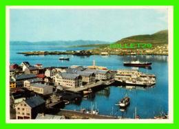 HAMMERFEST, NORVÈGE - ANIMATED WITH SHIPS - MITTET - - Norvège