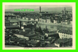 FIRENZE, ITALIA - PANORAMA DAL PIAZZALE MICHELANGELO - EDIT. BRUNNER & CO - - Firenze (Florence)
