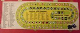 Publicité Signalisation Routière, Numéros Minéralogiques. Jeu De L'oie. (sans Règles) Vers 1960 - Publicités