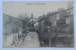 CPA Baccarat Le Canal Du Moulin - NAS06 - Baccarat