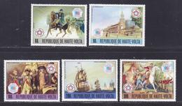 HAUTE-VOLTA N°  393 & 394, AERIENS 210 à 212 ** MNH Neufs Sans Charnière, TB (D7847) Tableaux, Interphil - 1976 - Haute-Volta (1958-1984)