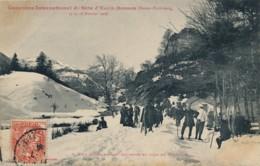 H227 - 64 - EAUX-BONNES - Pyrénées Atlantiques - Concours International De Skis - 15 Et 16 Février 1908 - Eaux Bonnes