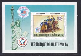 HAUTE-VOLTA BLOC N°    6 ** MNH Neuf Sans Charnière, TB (CLR374) Xposition Interphil - 1976 - Haute-Volta (1958-1984)