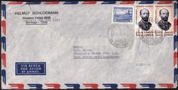 Chile Santiago 1964 / Volcan Chosuenco, Jose Toribio Medina / Air Mail - Chili