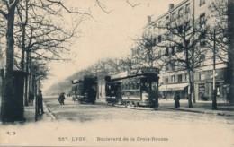 H228 - 69 - LYON - Rhône - Boulevard De La Croix-Rousse - Tramways - Lyon