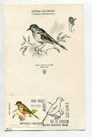 TARJETA FDC ZORZAL COLORADO OBLITERACION DIA DE EMISION 1972 BAHIA BLANCA ARGENTINA -LILHU - Birds