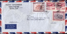 Chile Santiago 1964 / 150th Anniversary Of 1st National Government, Airplane / Air Mail - Chili
