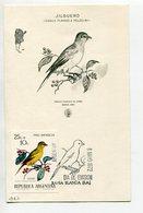 TARJETA FDC JILGUERO OBLITERACION DIA DE EMISION 1972 BAHIA BLANCA ARGENTINA -LILHU - Birds