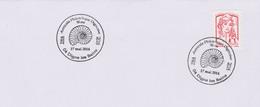 Archéologie : Digne Les Bains (Alpes Hte Provence) 50 Ans Amicale Philatélique (17 Mai 2014) (ammonite) - Astrologia