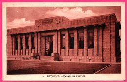Cp Orangée - Béthune - Palais De Justice - Animée - Edition MARGUERITE - Bethune