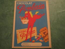 Chocolat POULAIN - Protège-cahiers