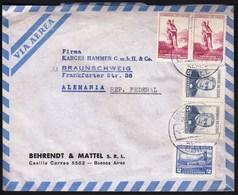 Chile Santiago 1965 / Robinson Crusoe, Montt, Volcano / Air Mail - Chili