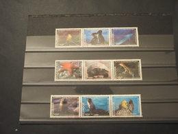 EQUADOR - 1999 DARWIN/FAUNA 9 VALORI - TIMBRATI/USED - Equateur