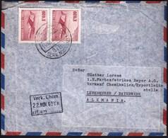 Chile Santiago 1965 / Airplane / Air Mail - Chili