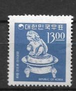 1966 MNH South Korea Mi 543, Postfris - Corée Du Sud