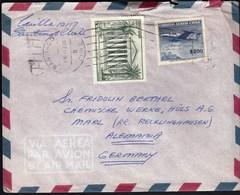 Chile Santiago 1961 / National Congress, Airplane / Air Mail - Chili