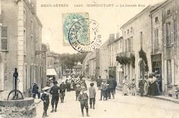 79 - Moncoutant - La Grande Rue - Moncoutant